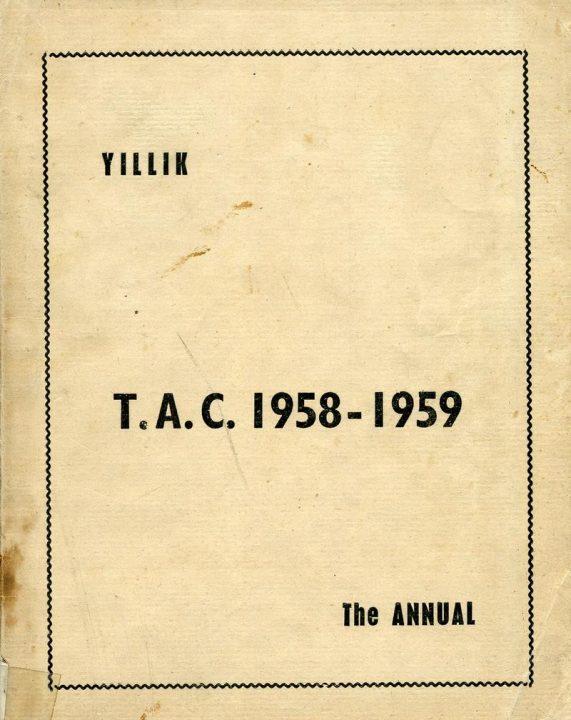 1958 1959 Yıllığı