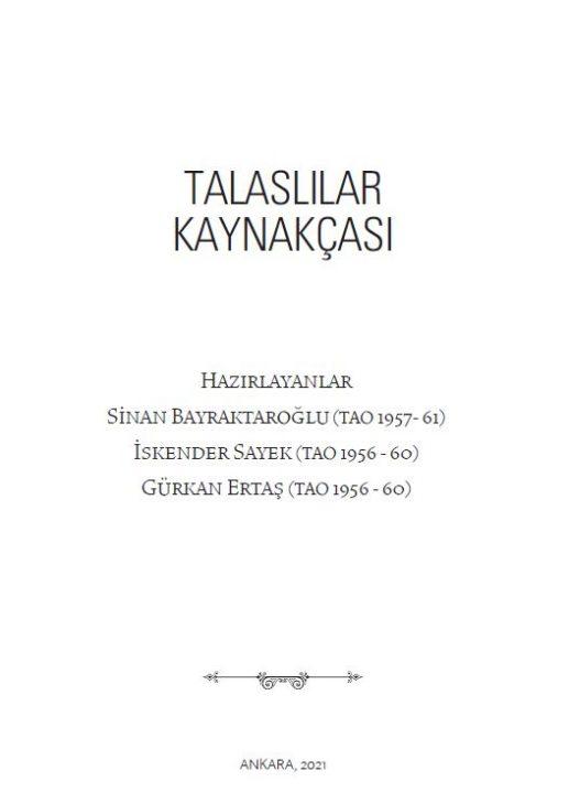 Talaslı Yazarlar Kaynakçası FeaturedImage